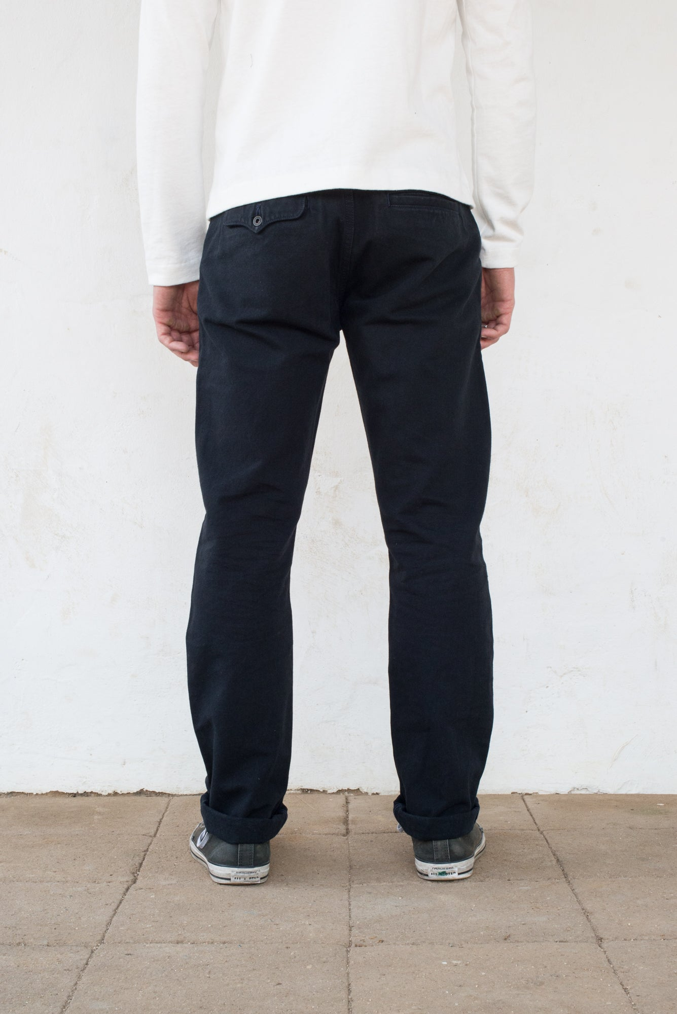 Workers Chino Slim Fit black Fit back profile