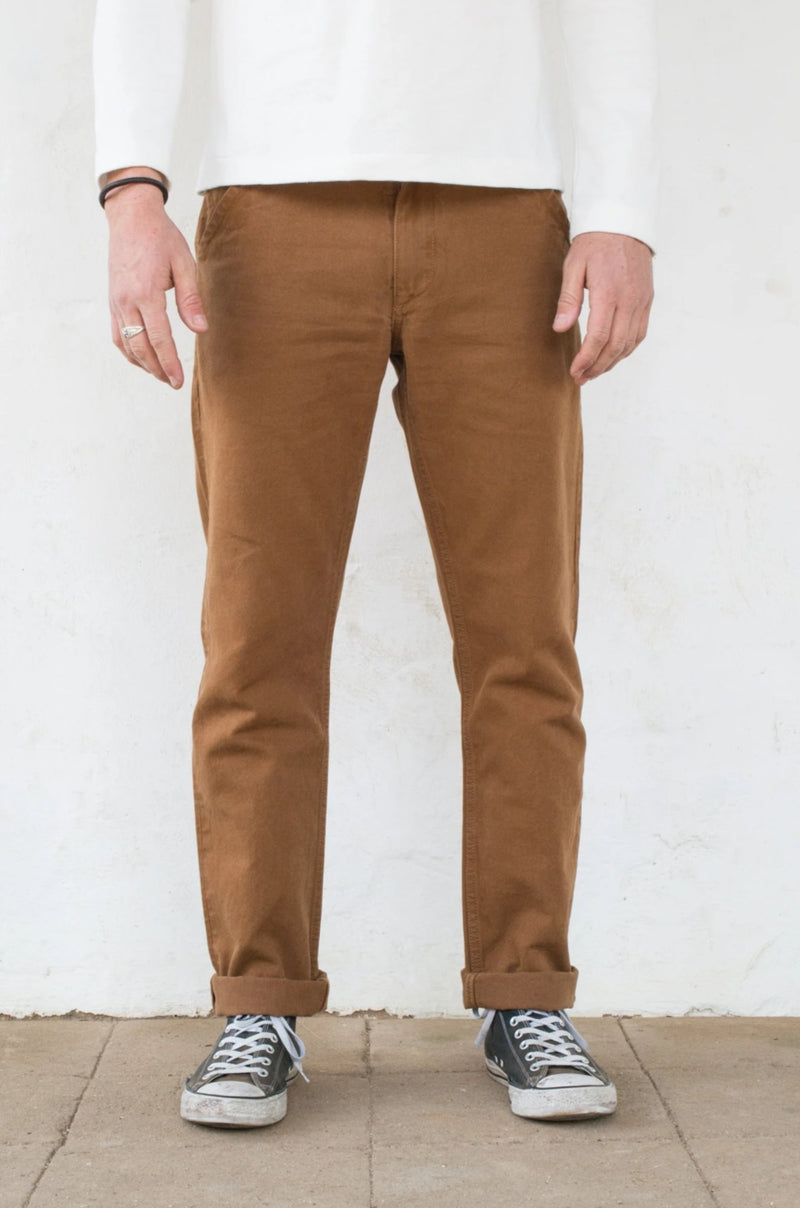 Workers Chino Slim Fit Rust profile front