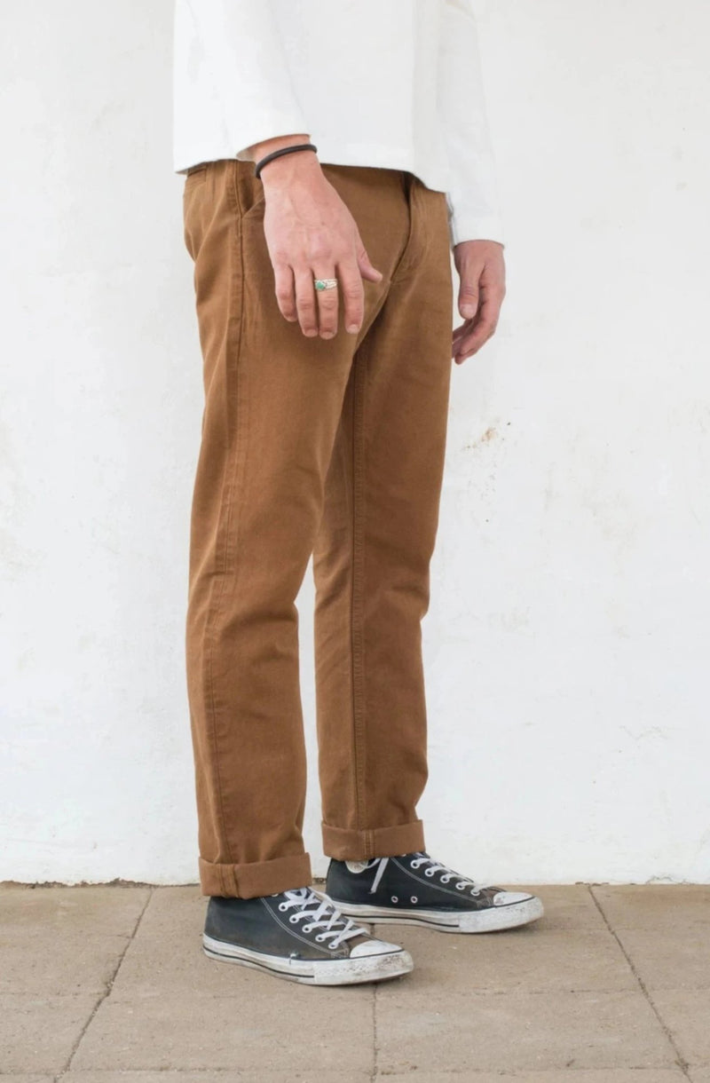 Workers Chino Slim Fit Rust profile
