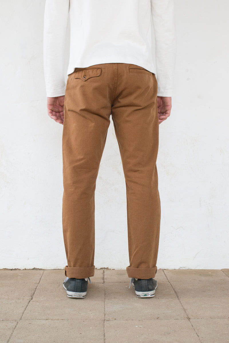 Workers Chino Slim Fit Rust back profile