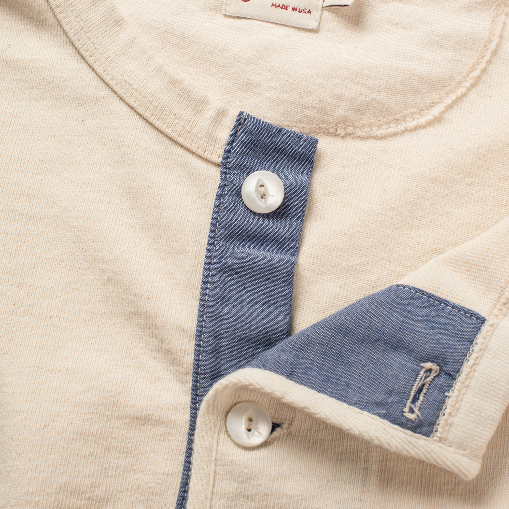 13 OUNCE HENLEY NATURAL Enclosure