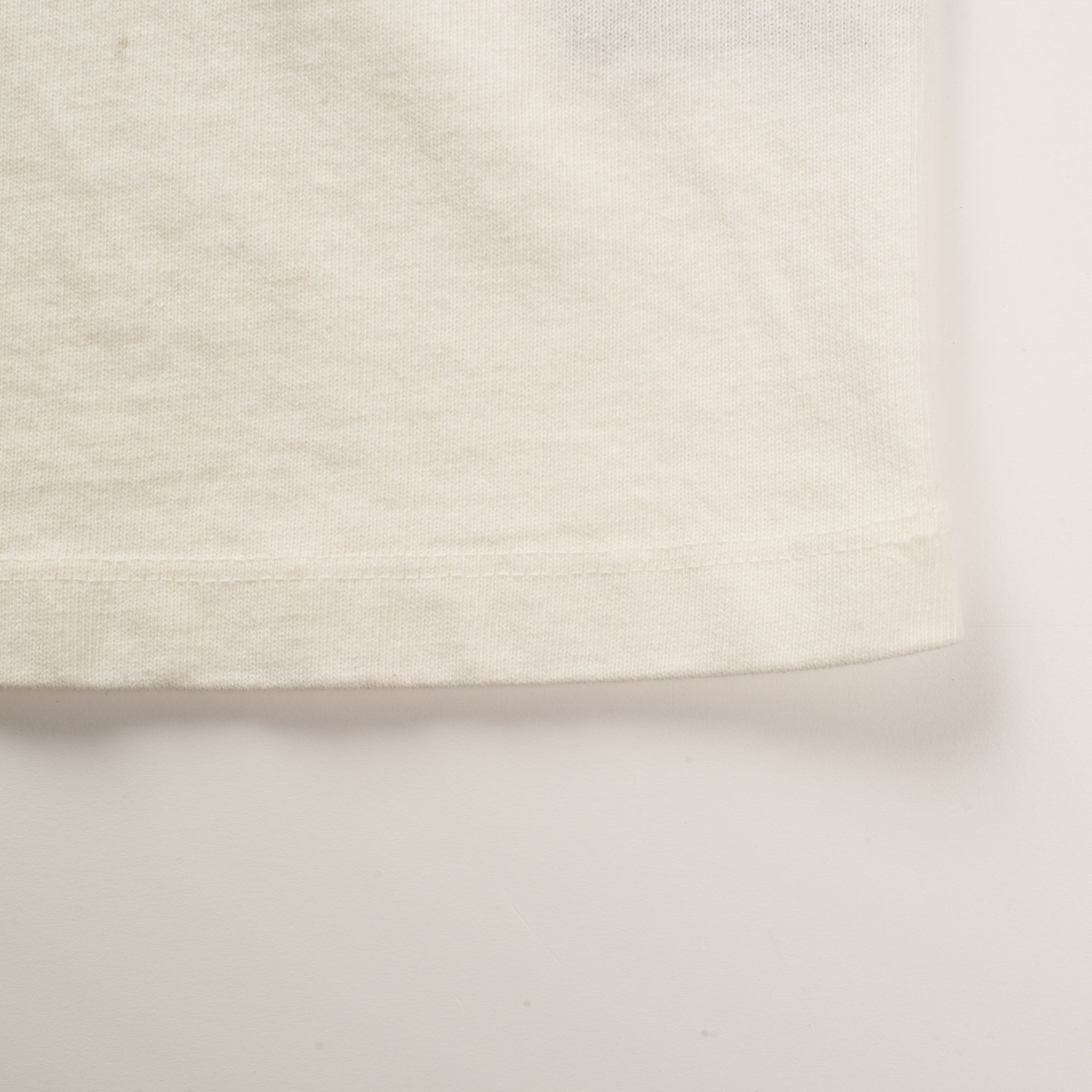 13 OUNCE HENLEY WHITE Bottom