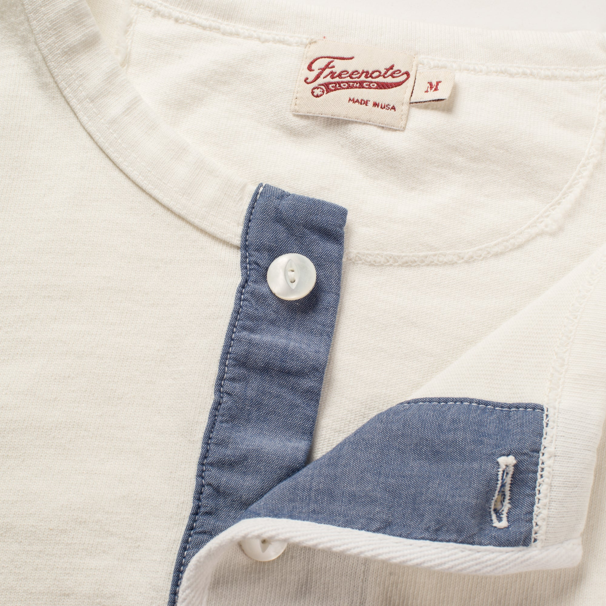 13 OUNCE HENLEY WHITE Enclosure