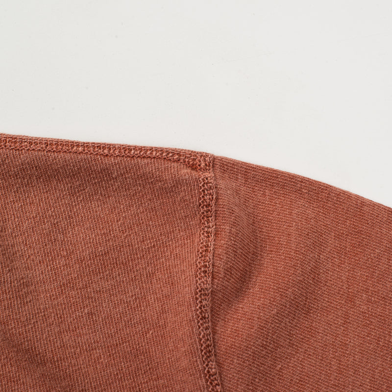 13 OUNCE HENLEY RUST Shoulder