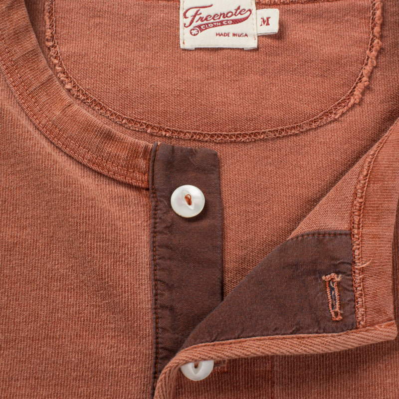 13 OUNCE HENLEY RUST Enclosure