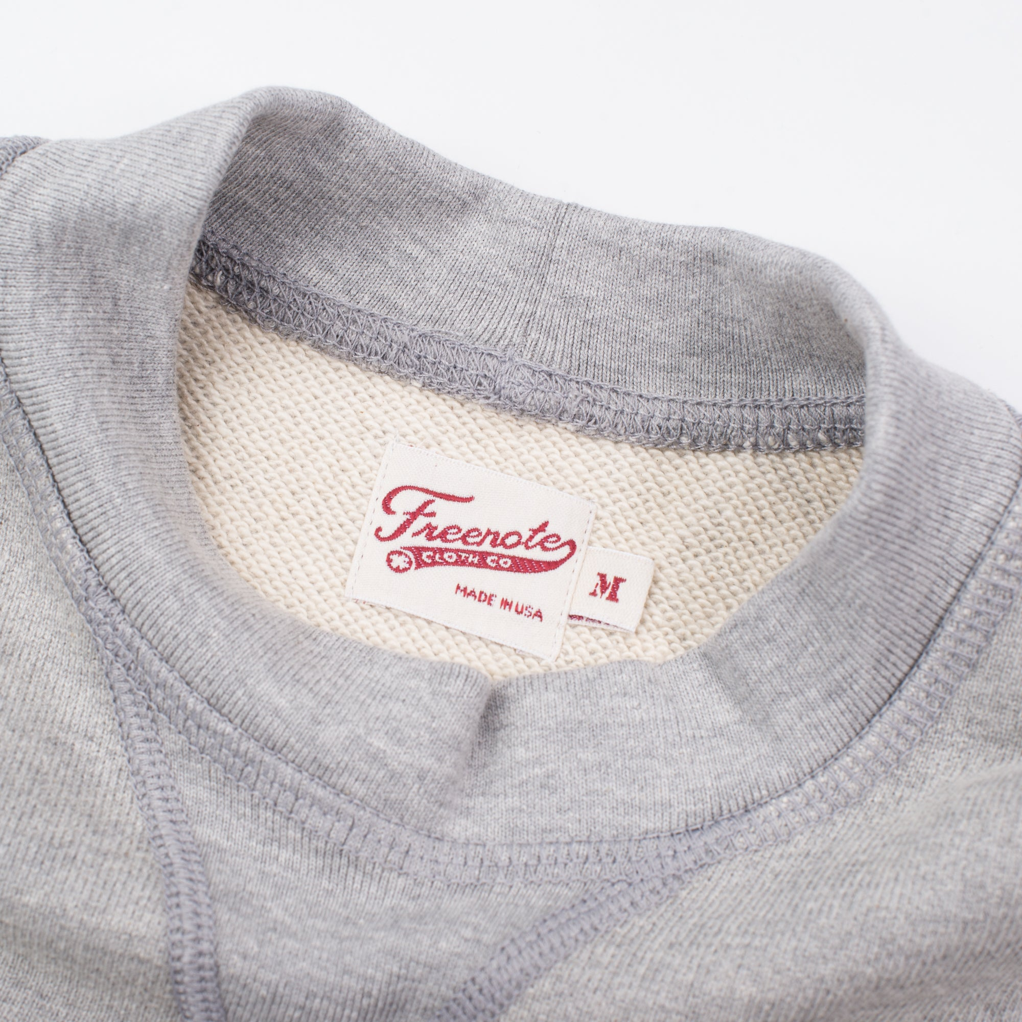 Deck Sweatshirt Heather Grey Label