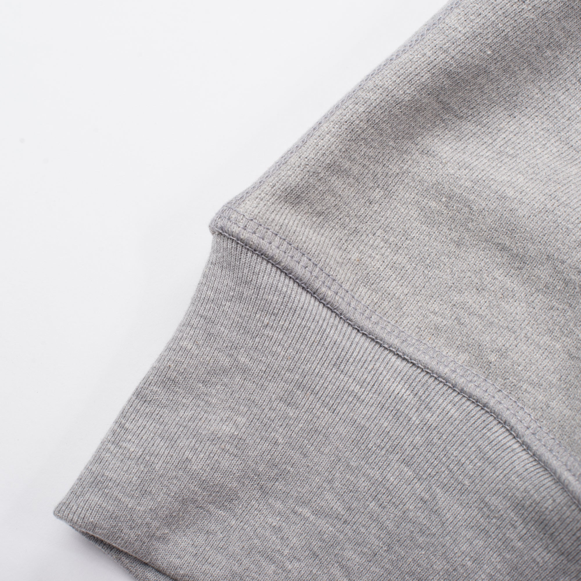 Deck Sweatshirt Heather Grey Cuff