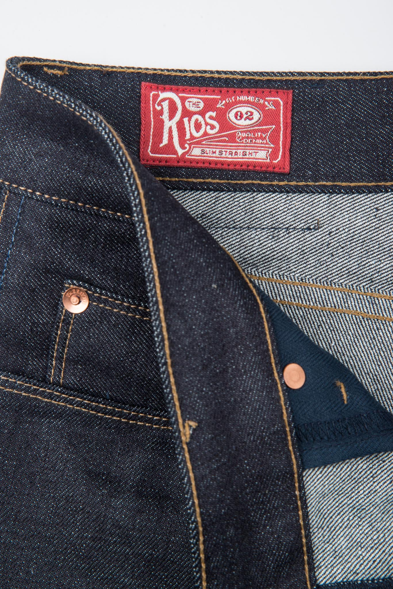 Rios <span>14.50 ounce Kaihara Denim</span>