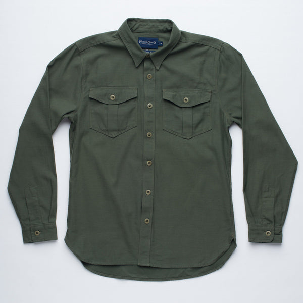 Freenote Cloth | Dayton - Military Green | $220
