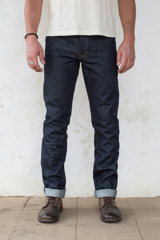 Freenote Cloth | RIOS - Raw 14.75 Cone Mill Denim | $230