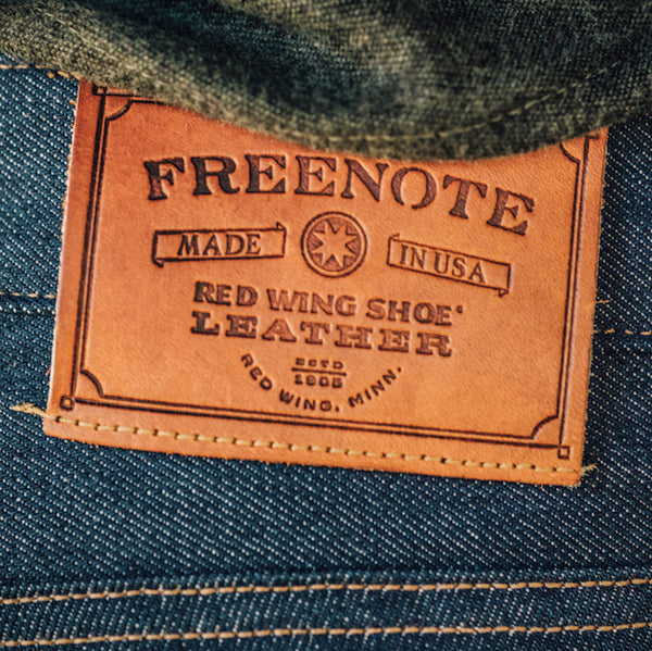 Freenote Cloth | Rios Slim Straight - Red Wing 110-Year Denim | $250