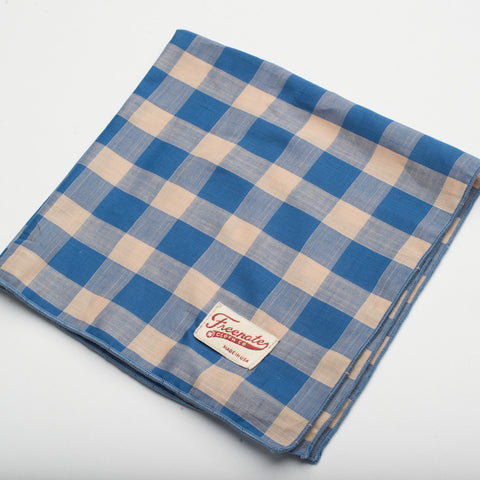 Freenote Cloth | Handkerchief - Blue | $35