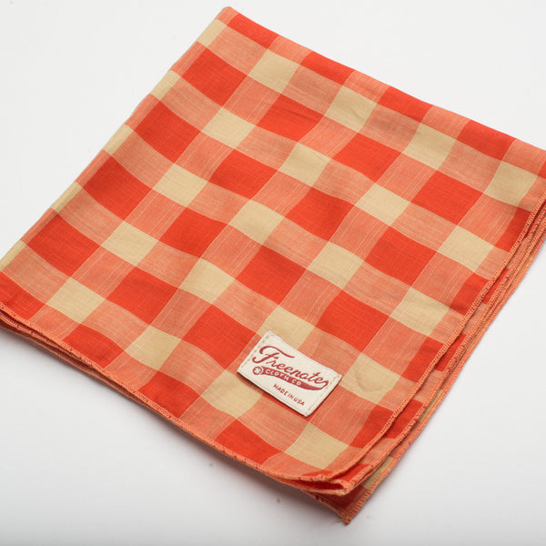 Freenote Cloth | Handkerchief - Red | $35