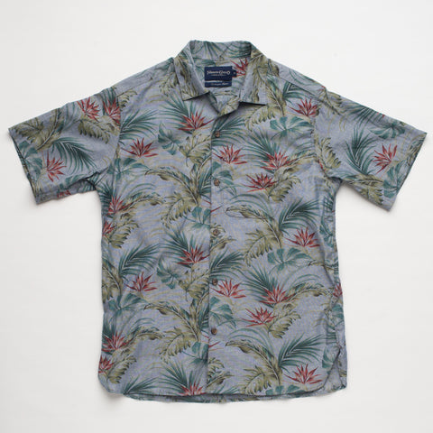 Freenote Cloth | Hawaiian Short Sleeve - Blue | $140