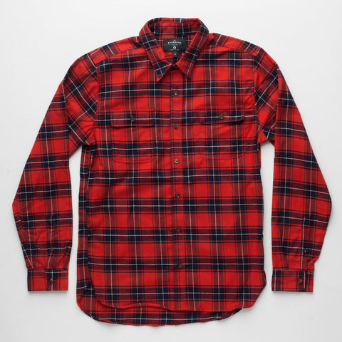 Freenote Cloth | Jepson Shirt - Red