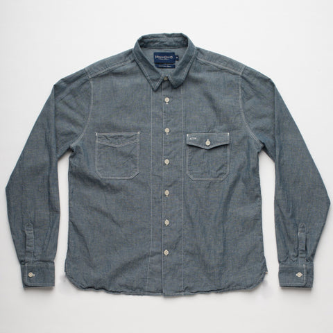 Freenote Cloth | Mariner - Blue Chambray | $240