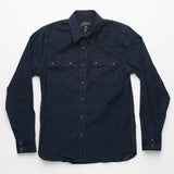 Freenote Cloth | Modern Western - Corduroy Navy | $240