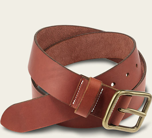 Red Wing Belt Oro Russet Pioneer Leather