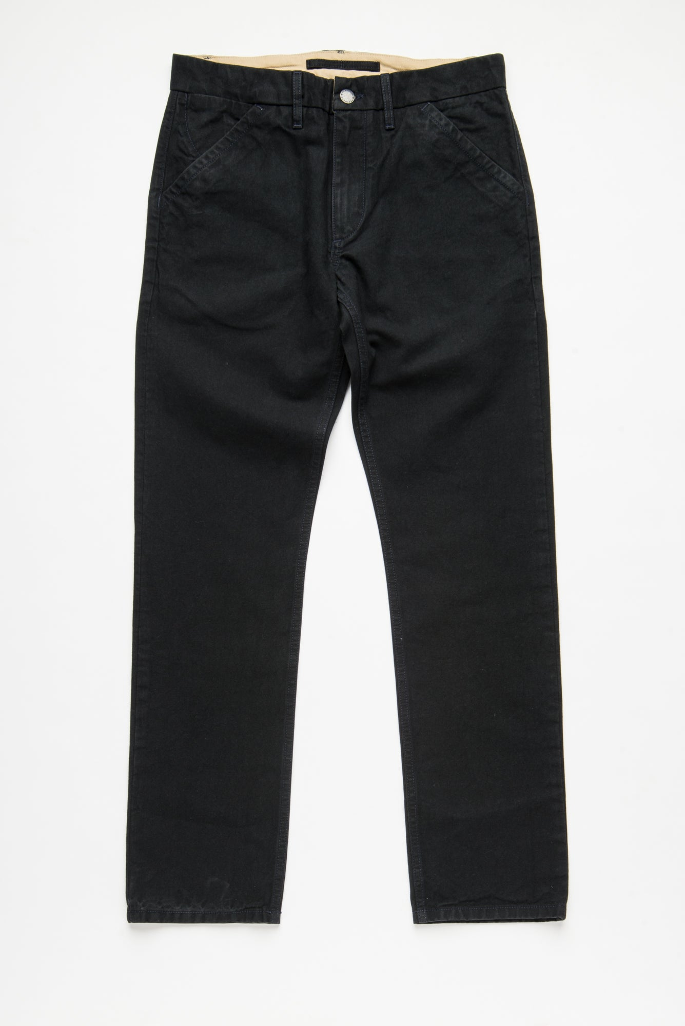 Workers Chino Slim Fit black front