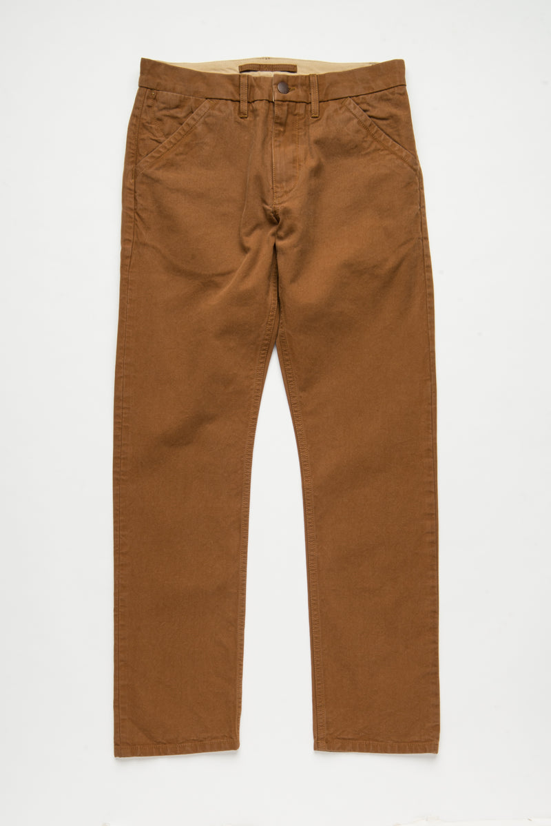Workers Chino Slim Fit Rust front