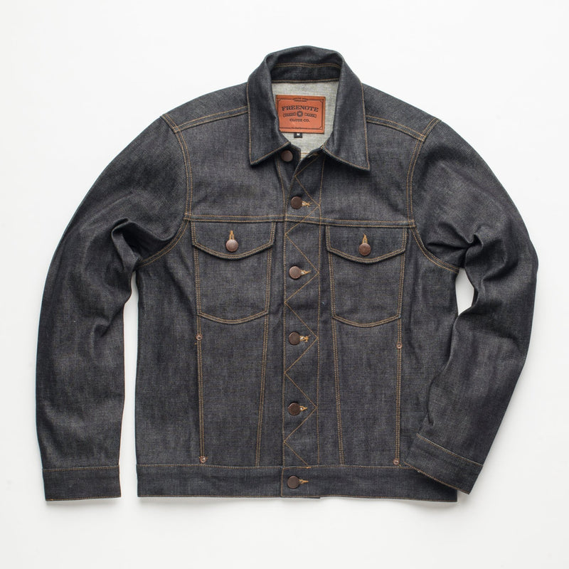 Classic Denim Jacket <span> Broken Twill Rinsed </span>