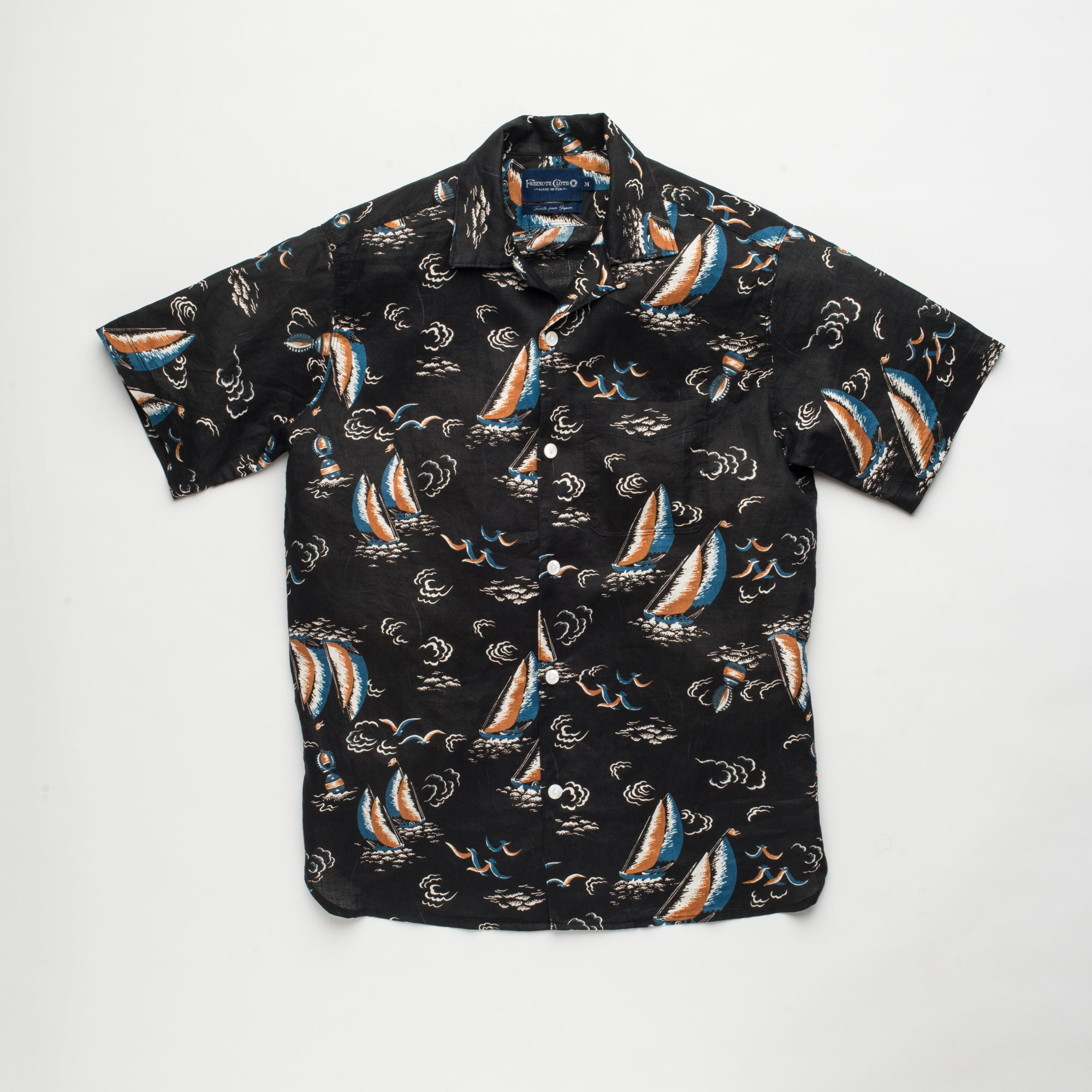 a181c2c7b3 Freenote Cloth ❘ Hawaiian Short Sleeve Woven