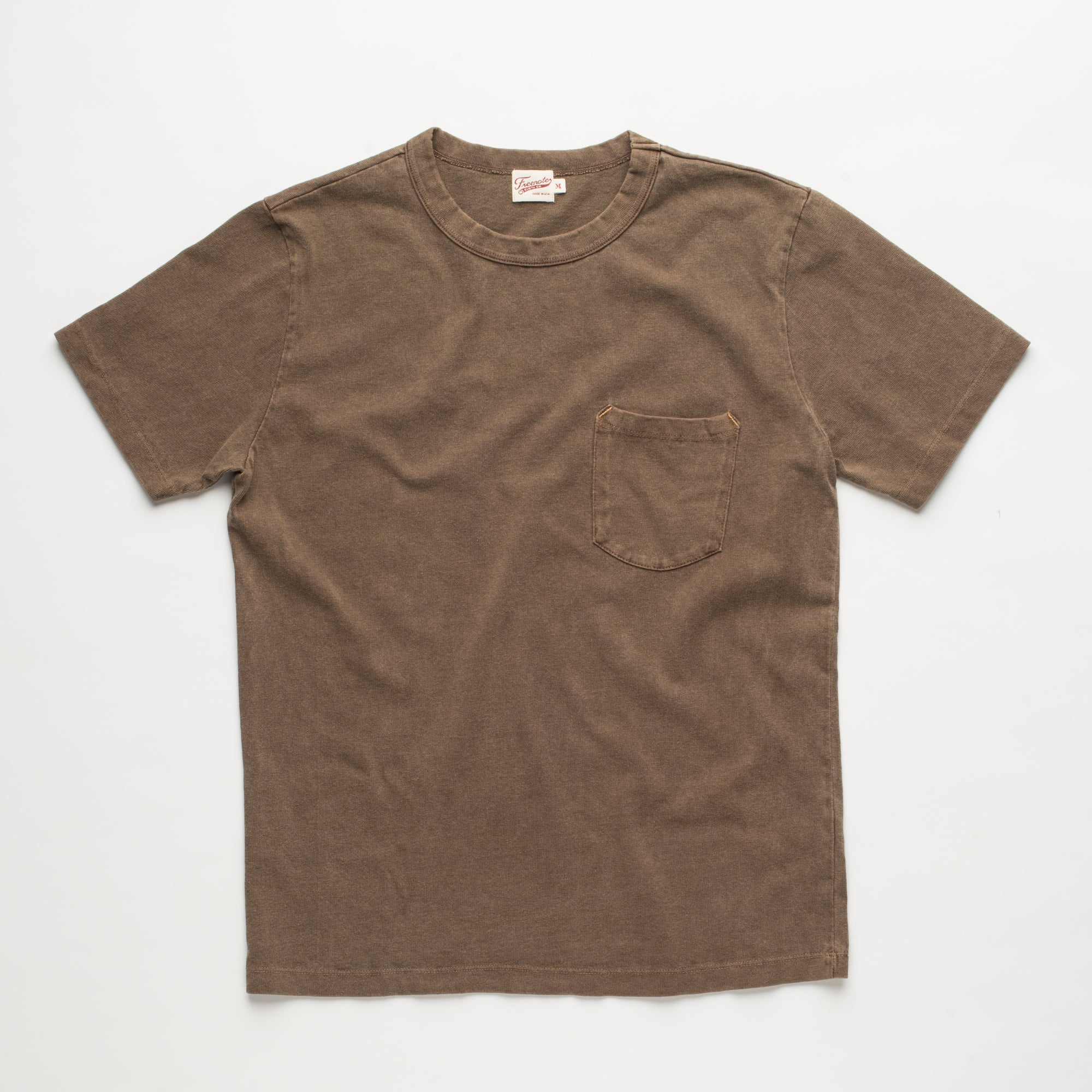 13 OUNCE T-SHIRT DARK OLIVE Front