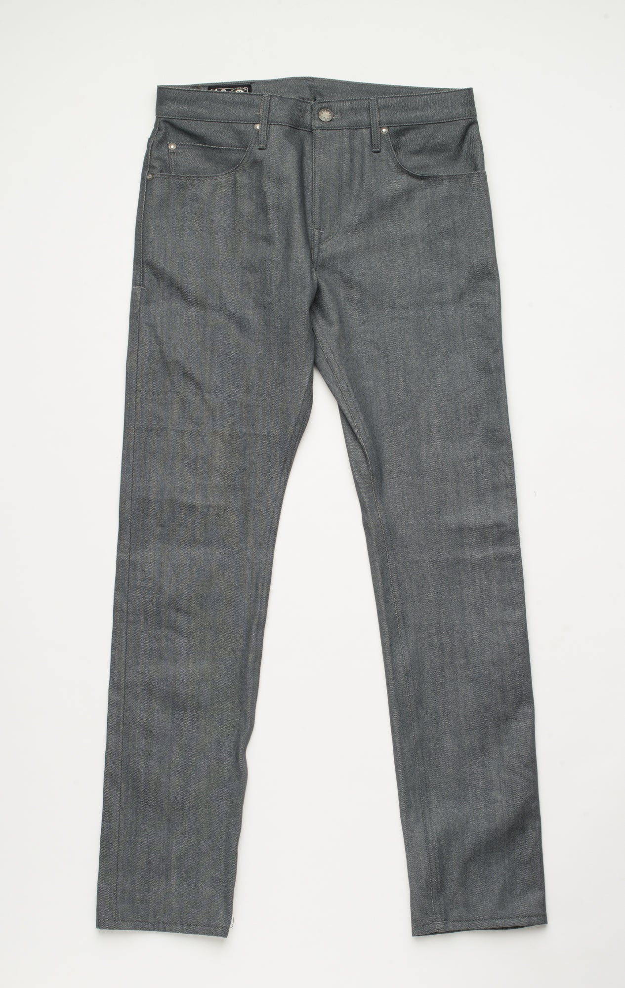 Avila Slim Taper <span> 13oz Grey Denim</span>