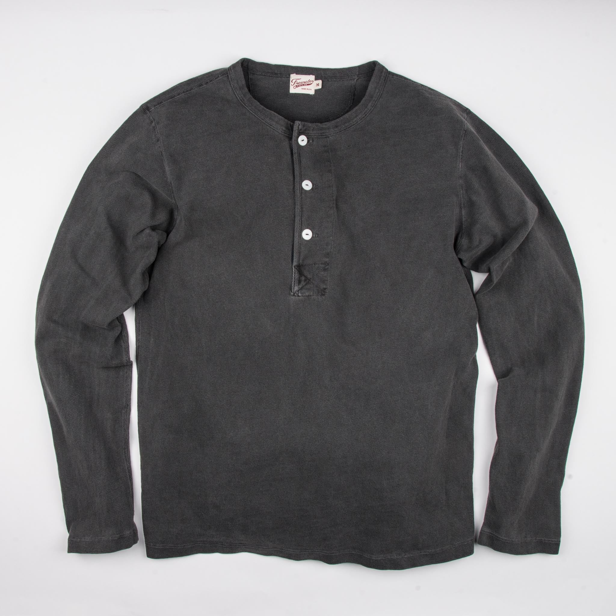 13 Ounce Henley L/S <span>Midnight</span>