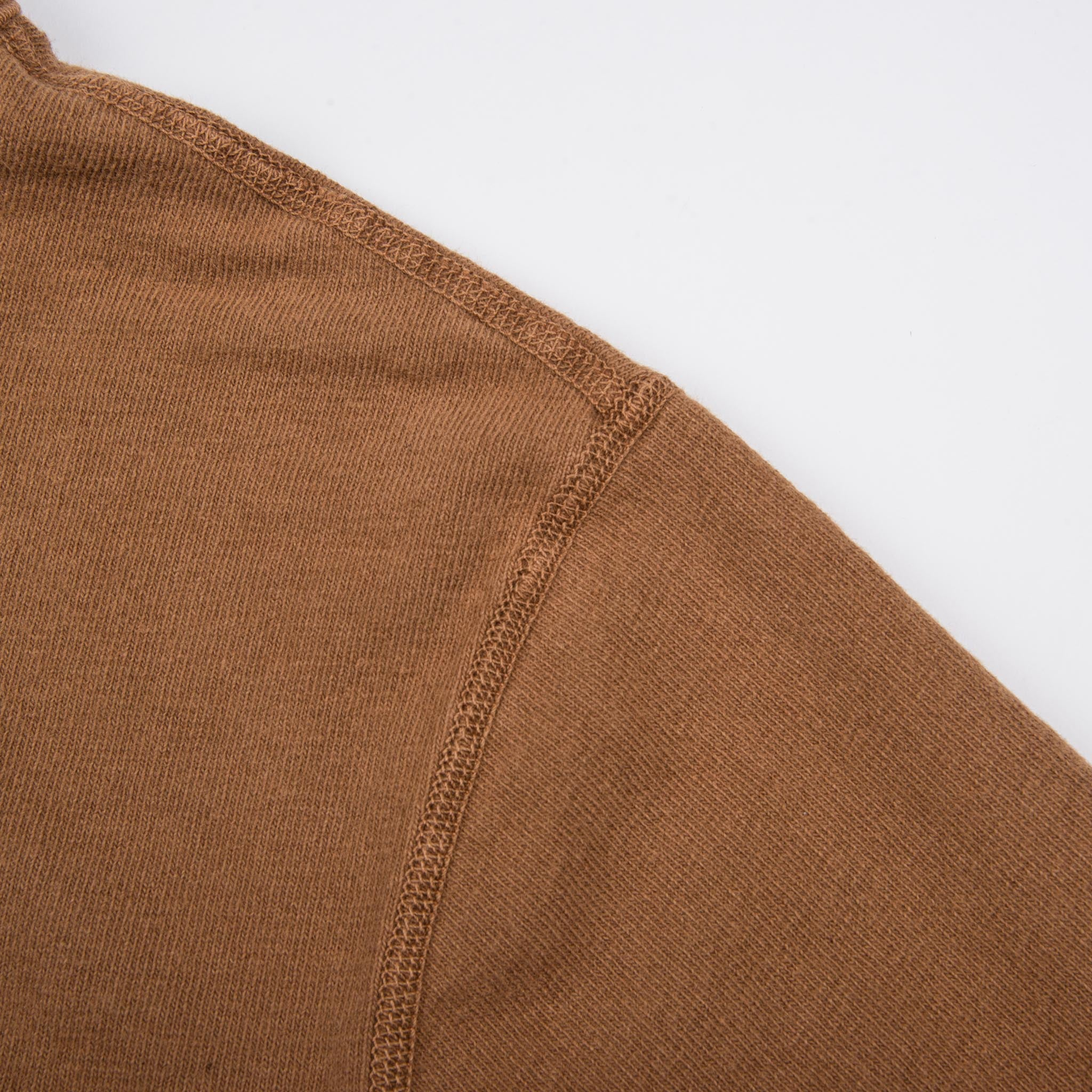 13 Ounce Henley L/S <span>Tobacco</span>