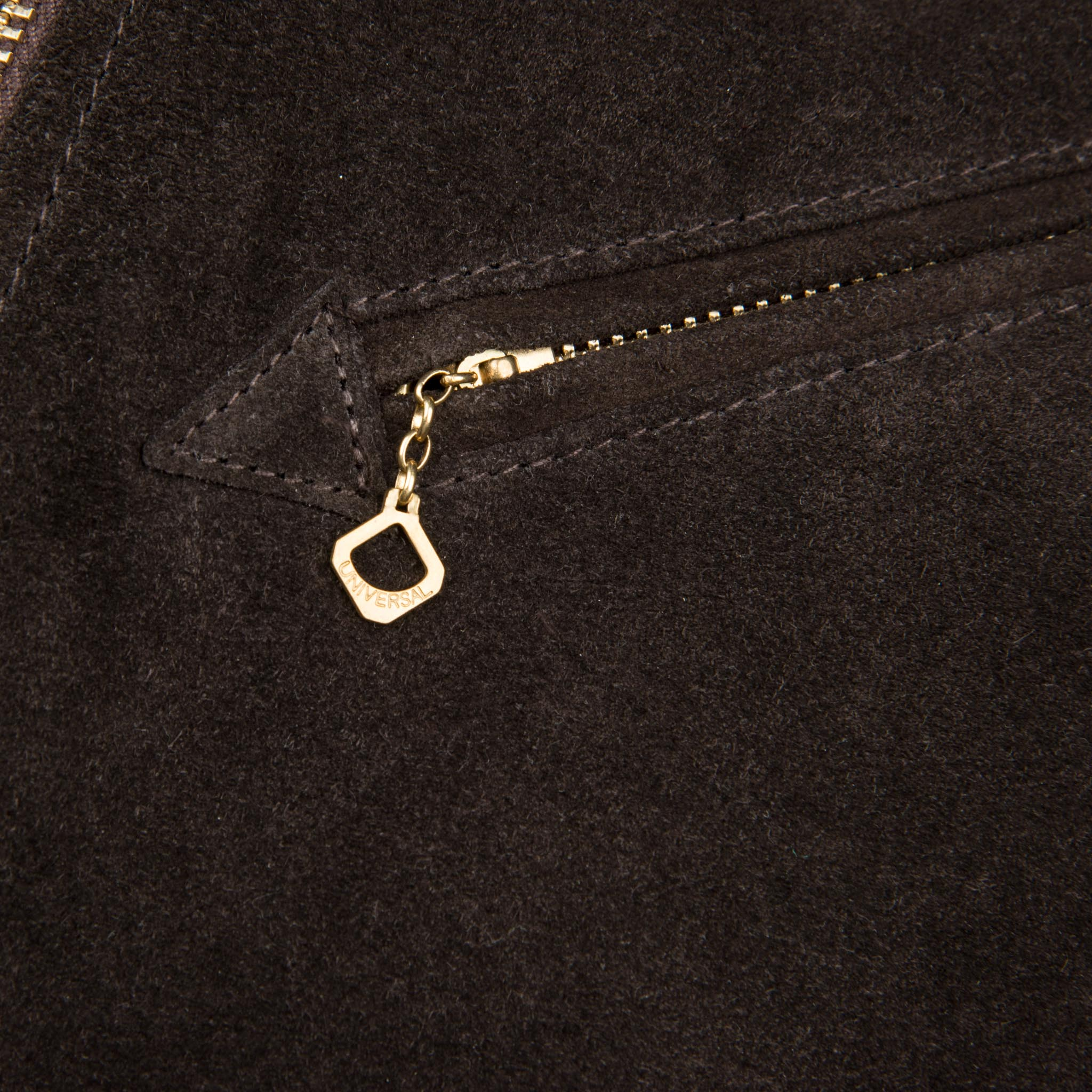 Locklin Espresso Zipper Detail