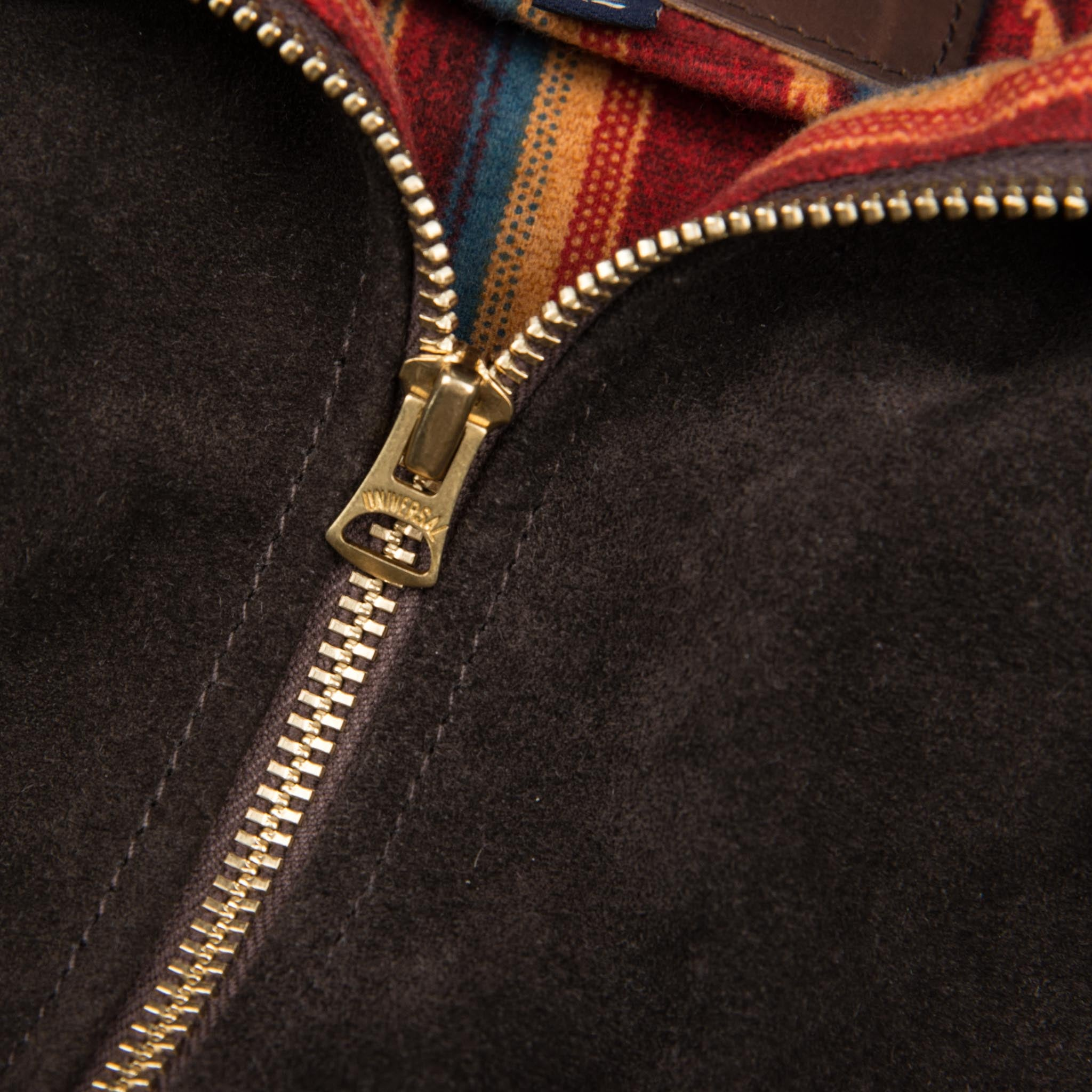 Locklin Espresso Main Zipper