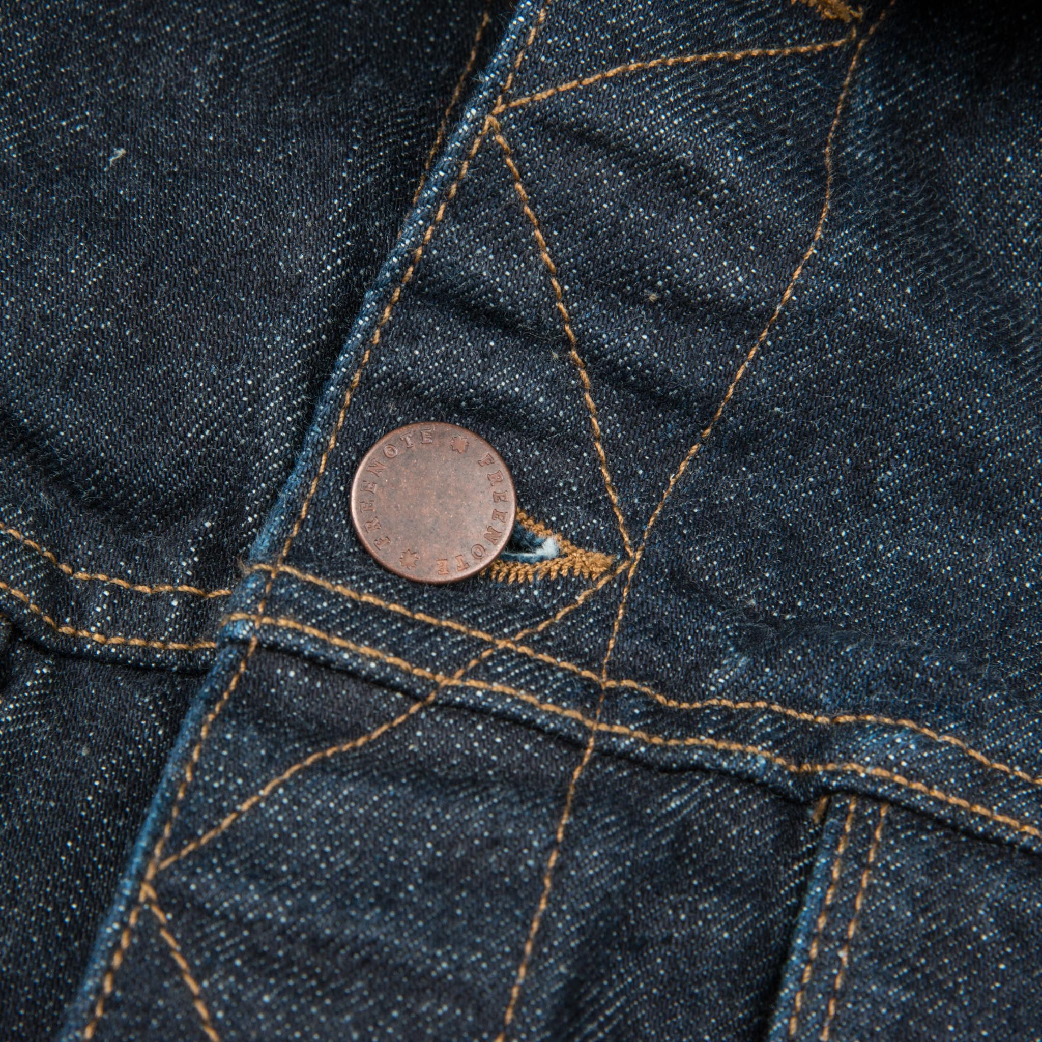 Classic Denim Jacket <span> 16oz Rinsed Denim </span>