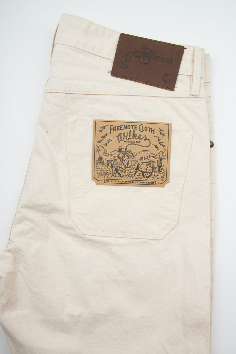 Wilkes Western <span>11 Ounce Natural Canvas</span>