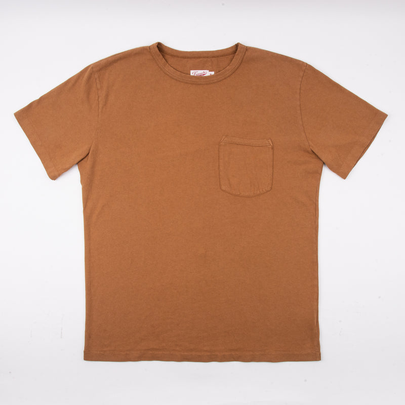9 Ounce Pocket T-Shirt <span> Tobacco </span>