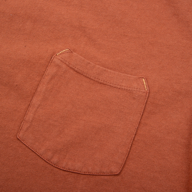 13 Ounce Pocket T-Shirt <span>Rust</span>
