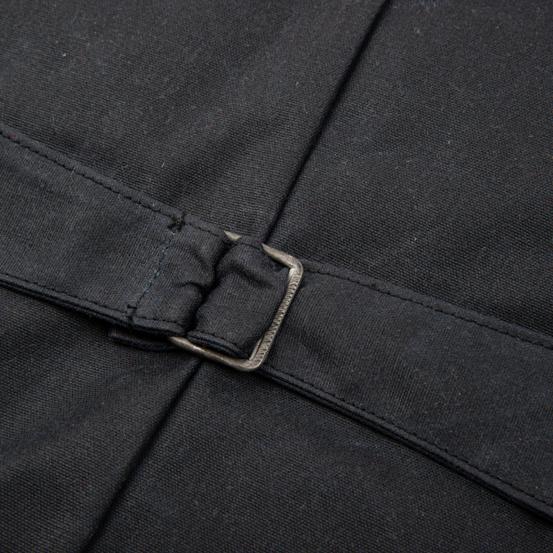 Calico Vest Waxed Canvas <span> Black </span>