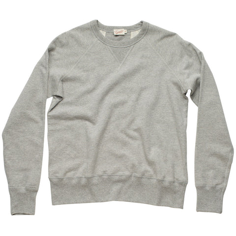 Freenote Cloth | Standard Issue Fleece - Athletic Heather | $140