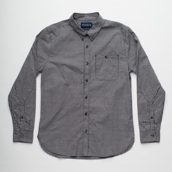 Freenote Cloth | Indigo Gingham - Navy Check | $180