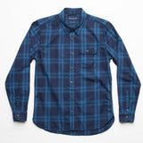 Freenote Cloth | Jepson Single Pocket- Blue Moss | $230