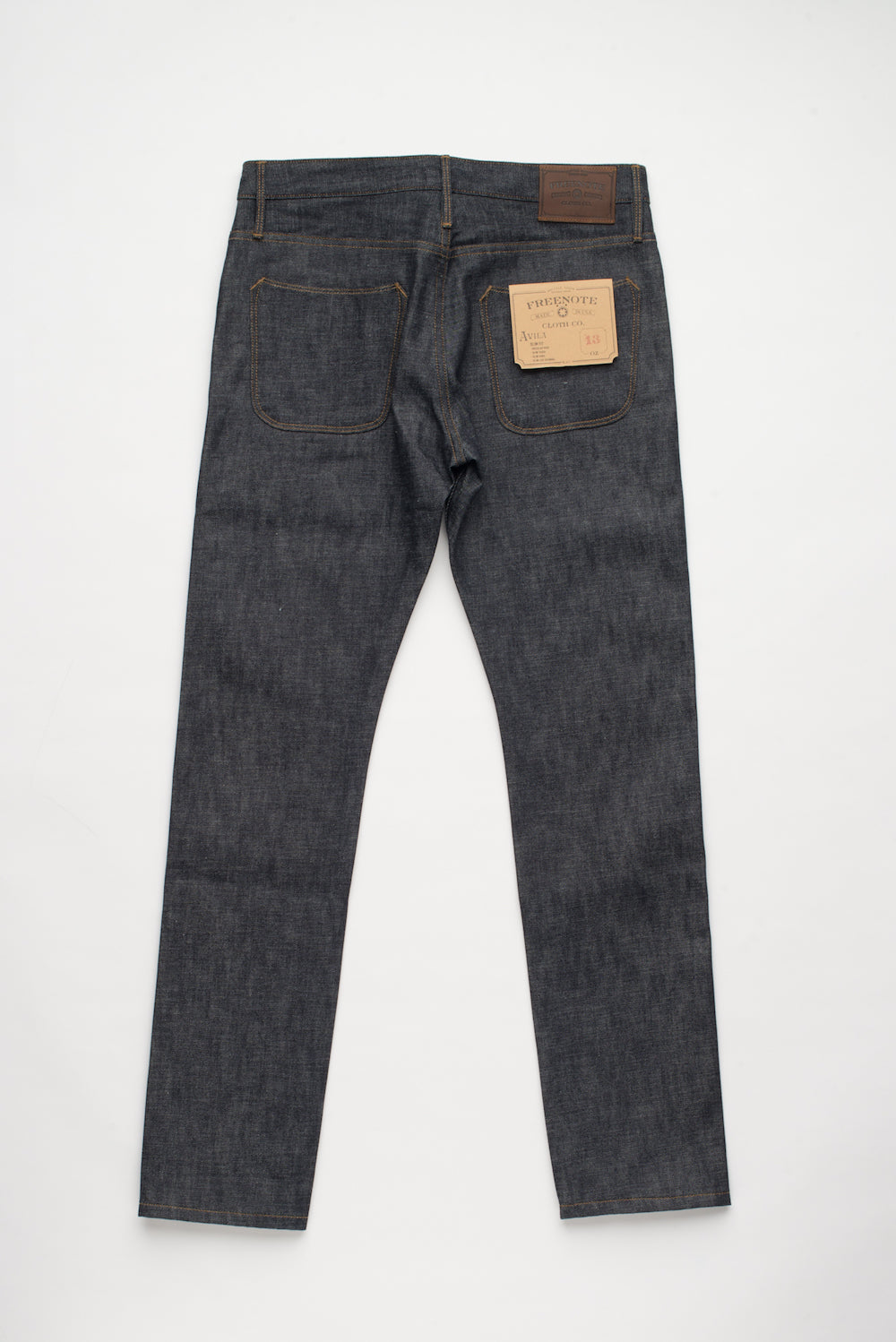 Freenote Cloth | Avila 13 oz Natural Indigo (bs) | $250