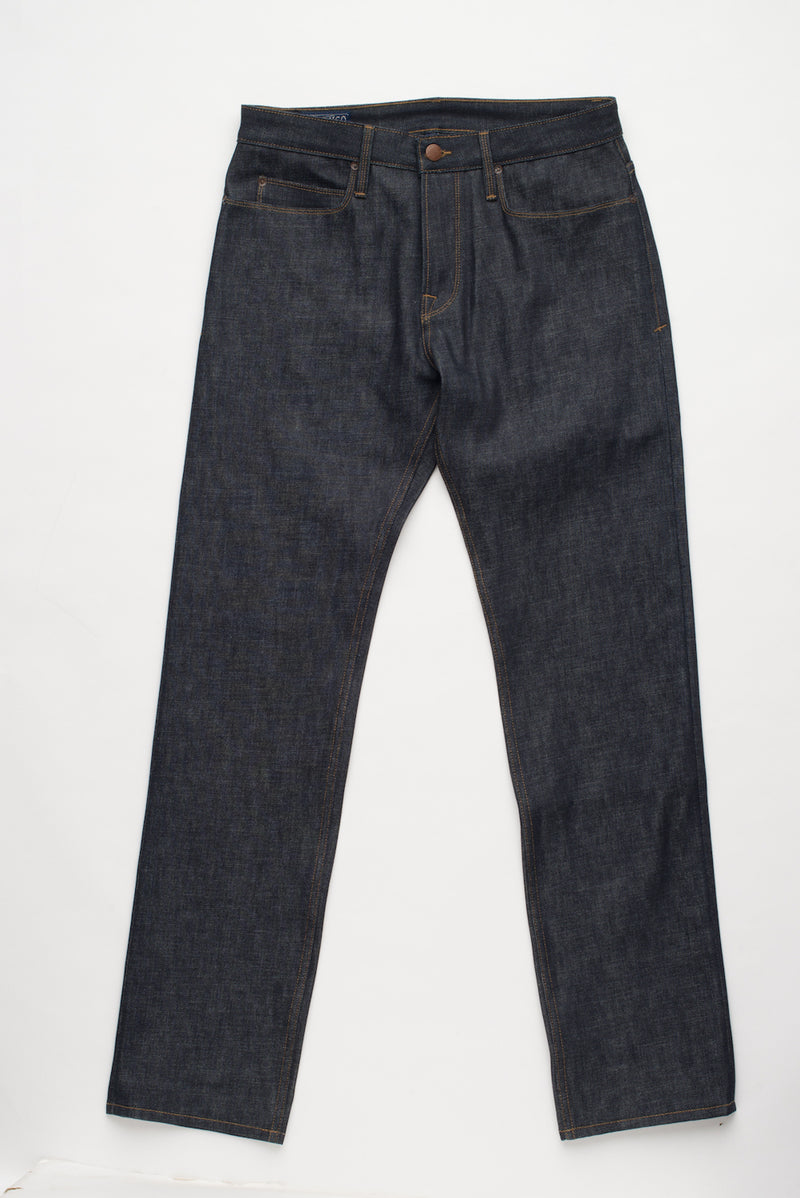 Trabuco - Raw 14.75oz Cone Mill Denim Frontside | $230