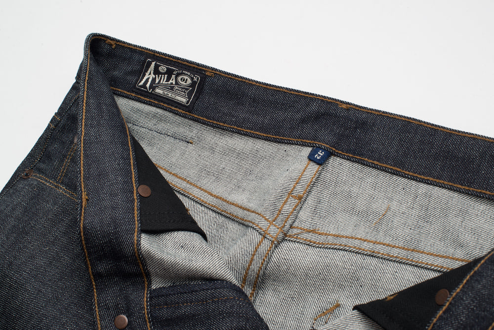 Freenote Cloth | Avila 13 oz Natural Indigo avila label | $250