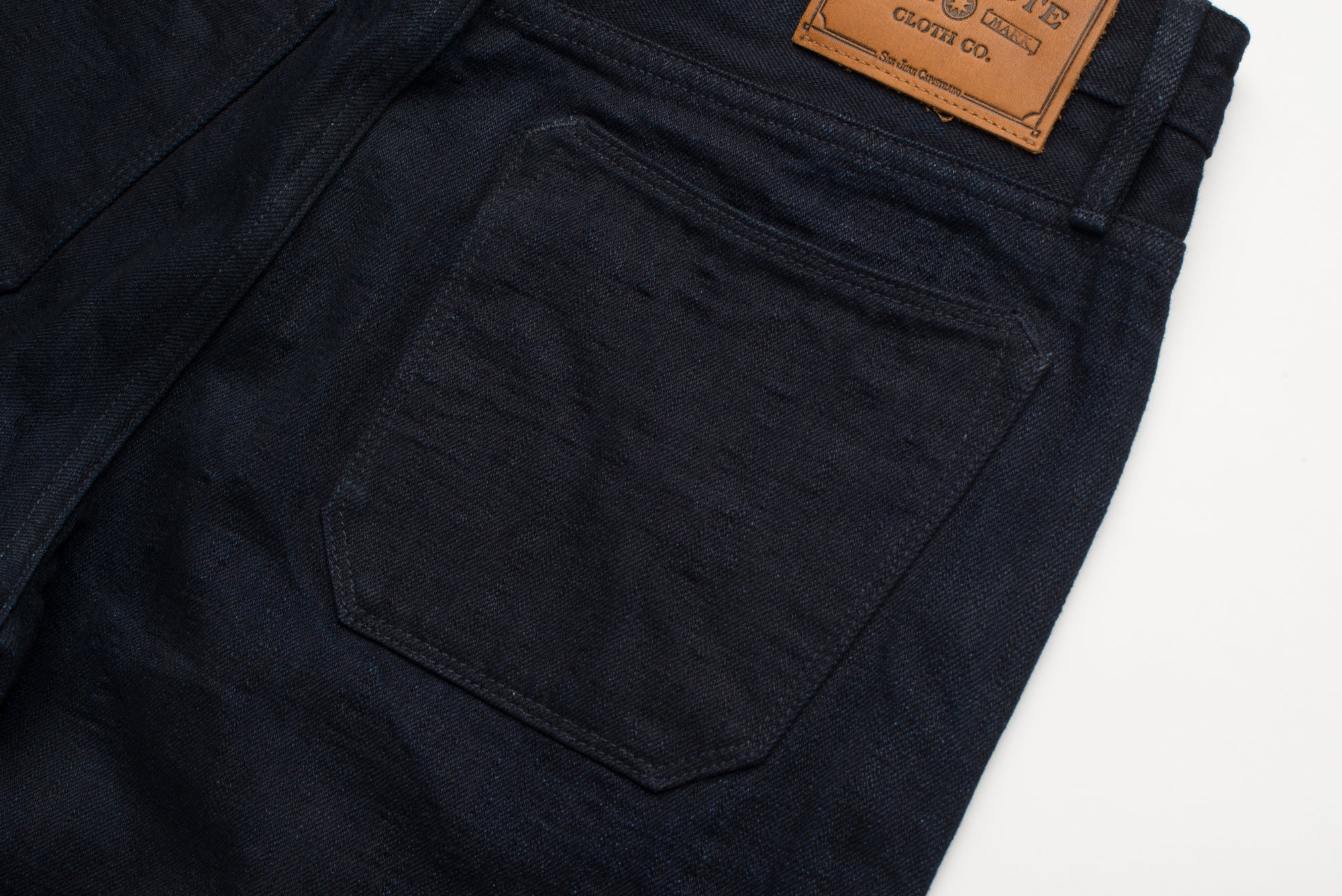 Portola Classic Taper | Unsanforized Single Rinse Back Pocket
