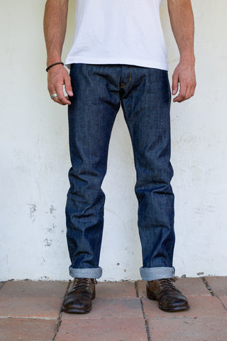 Freenote Cloth | Trabuco Straight - Slub Indigo | $150