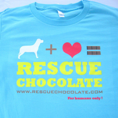 Rescue Chocolate Tee's