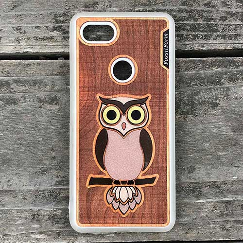 Owl Phone case  iphone case phone cover cell phone wood case