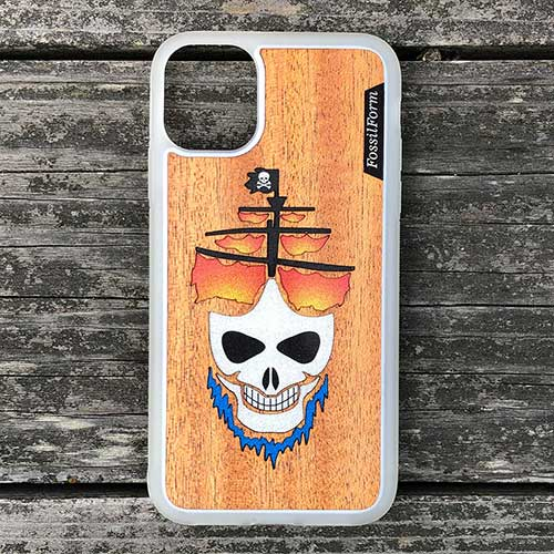 Ghost pirate ship iphone case cell phone case
