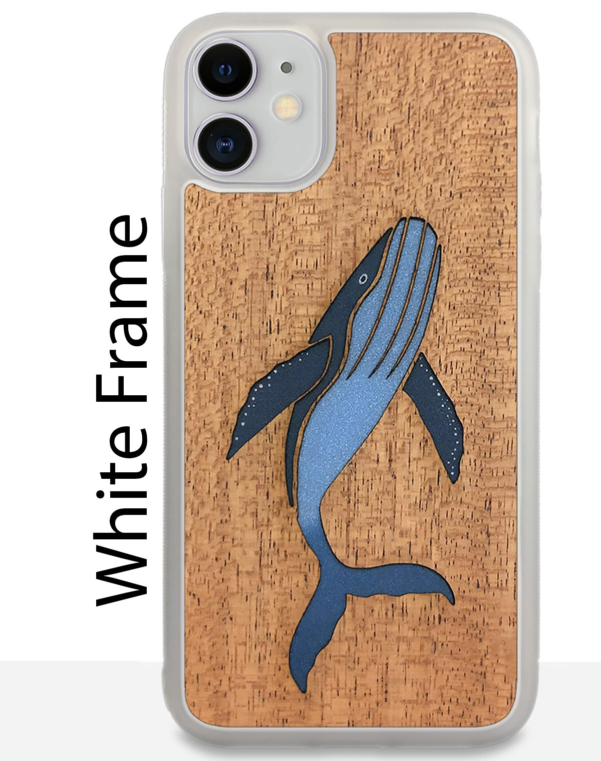 white phone cases wood + resin iphone cases