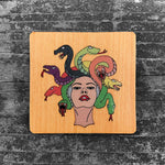Load image into Gallery viewer, Medusa - FossilForm drink coaster